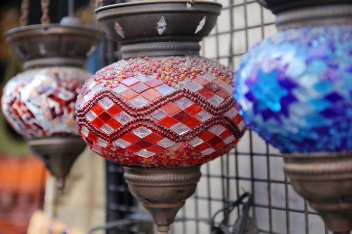 Turkey: Turkish lamps More Info