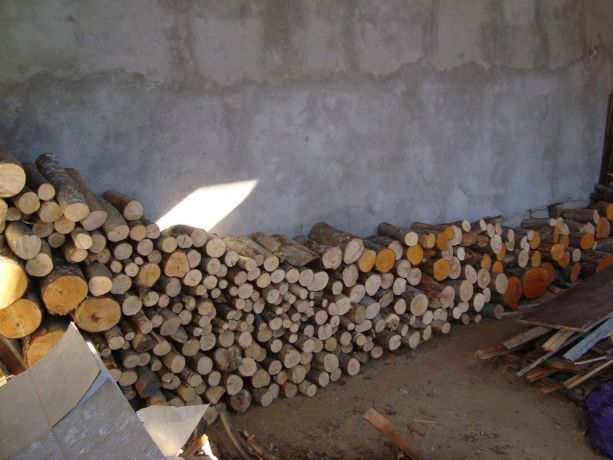 Caucasus: Neatly stacked firewood More Info