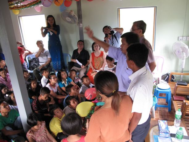 Myanmar: OM Myanmar was instrumental in helping a young Burmese couple purchase land and build an local orphanage with the help of international donors. Many of the donors were able to attend the opening ceremony in person. More Info