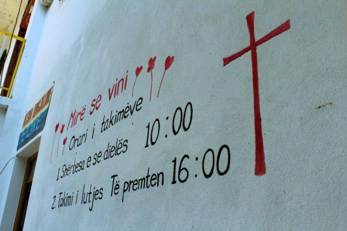 Albania: An OM church plant in Polican, Albania. More Info