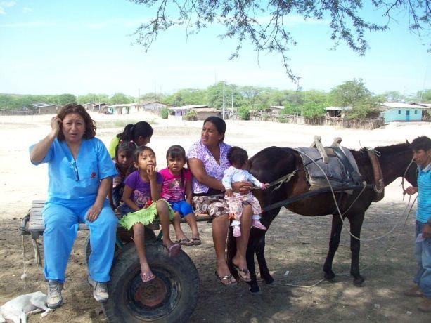 Peru:  Local  Transport for team members during a medical brigade in Peru  More Info