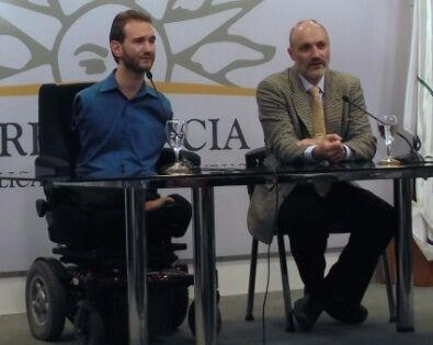 Uruguay: In a press conference, OM Uruguay director Alejandro Las translates for Nick Vujicic as he reflects on his time in Parliament and with the President where he spoke about Gods power in his life. More Info