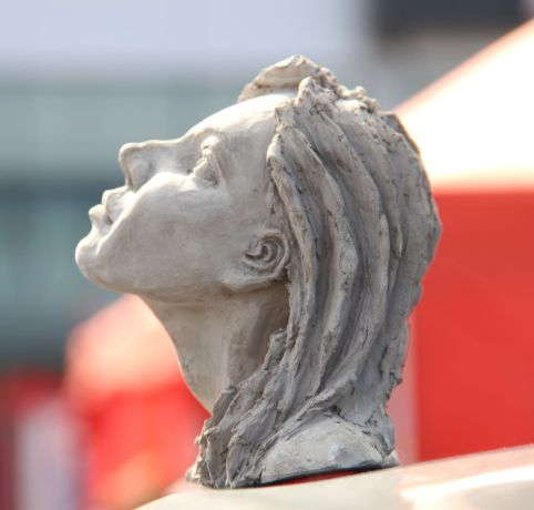 Czech Republic: Sculpture entitled Hope created by Chuck Tryon More Info