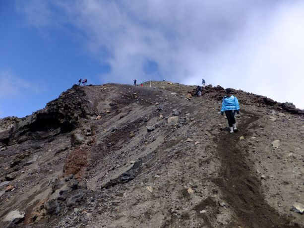New Zealand: Tongariro Alpine Crossing, the site of Freedom Climb New Zealand, is a 19.4 kilometre hike in the oldest national park and dual World Heritage Site in the Central North Island of New Zealand. More Info