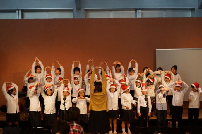 Japan: Led by Seon A Lee from Japan, about 35 children from Tonamino Bible Churchs English class sang Christmas carols at the churchs annual Christmas concert. More Info