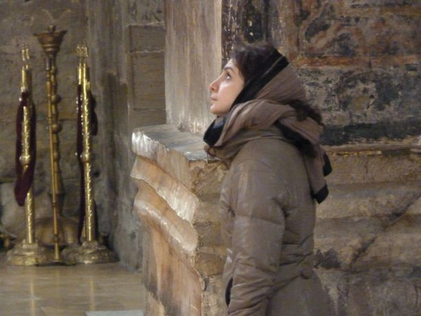 Caucasus: At the Georgian Orthodox church More Info