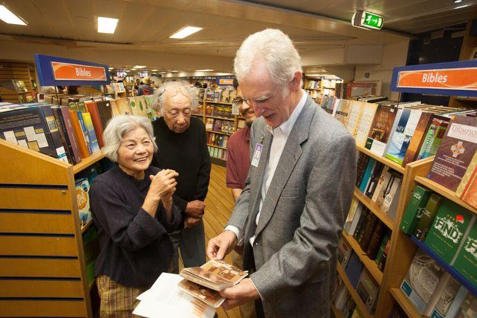 Japan: Nagasaki, Japan :: Ex Logos member Noriko Ishikawa Yoshida (Japan) shares memories about her time on board with Des Harper (Northern Ireland). More Info