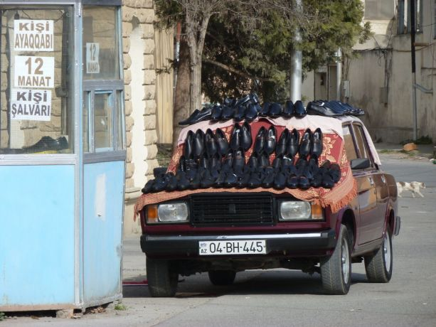 Caucasus: How to sell shoes in the outskirts of Baku More Info