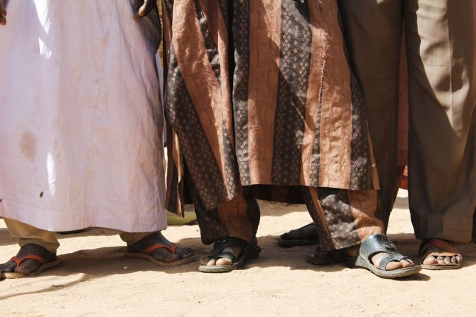 Africa: Chadian feet More Info