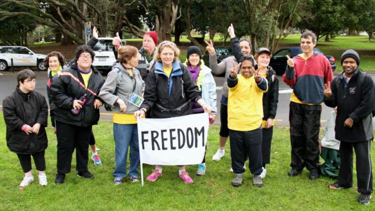 New Zealand: Twelve residents from Ranfurly Care Society, an organisation for people with intellectual disabilities, took part in Auckland's inaugural Freedom Climb on Saturday, 16 August.  More Info