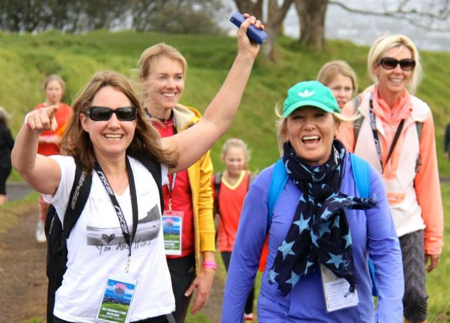 New Zealand: About 110 men, women and children climbed five volcanoes (Domain, Mt Eden, Mt Hobson, Mt St Johns and One Tree Hill) in Auckland's inaugural Freedom Climb.  More Info