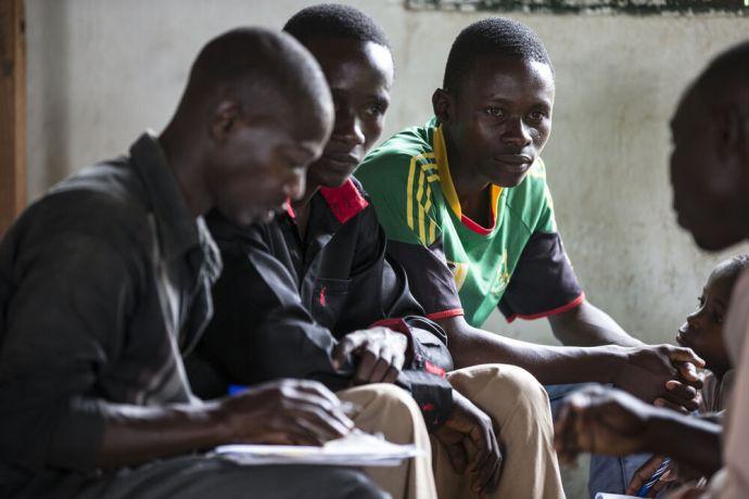 Burundi: Discipleship group in Burundi meeting together More Info