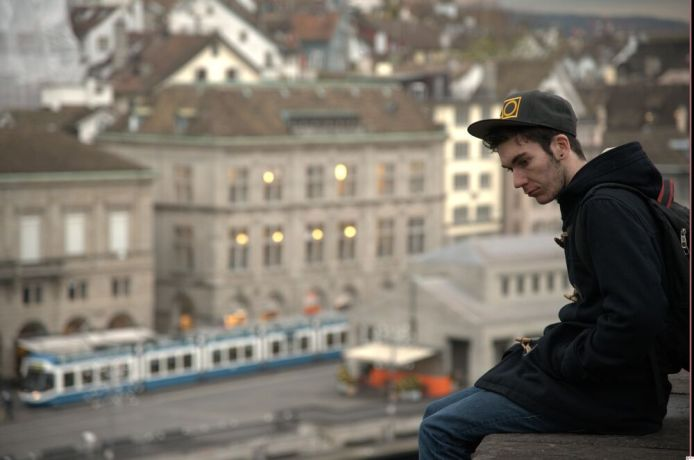 Switzerland: Young Tourist in Zurich More Info