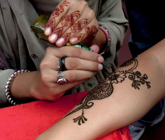 Hong Kong: Henna art is one of the oldest form of cosmetics  More Info