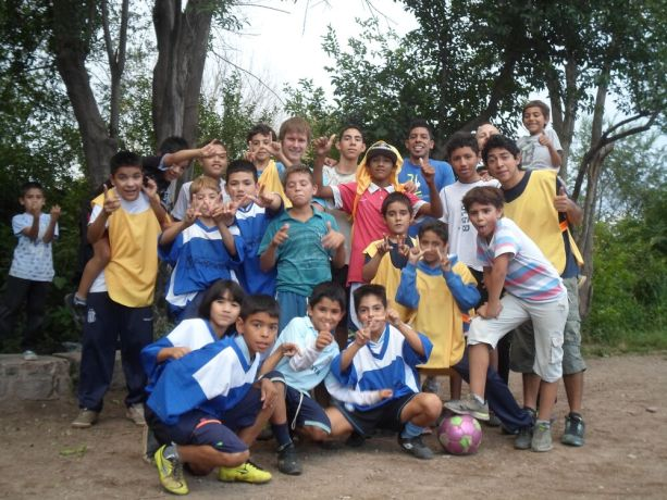 Argentina: Coach and trainees in Córdoba, Argentina More Info