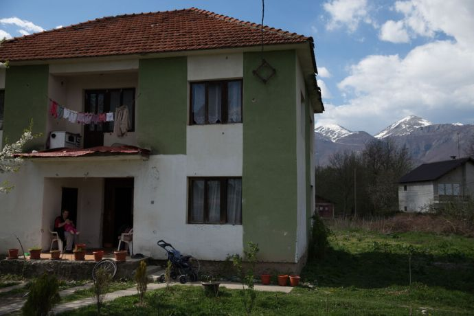 Kosovo: Families often live with many generations and relatives in one house in Kosovar villages More Info