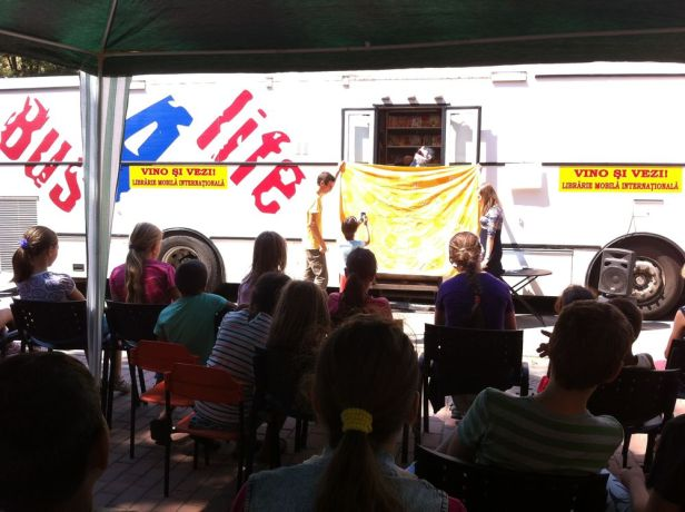 Finland: Bus4Life often provides fun and creative events like puppet shows for children. More Info