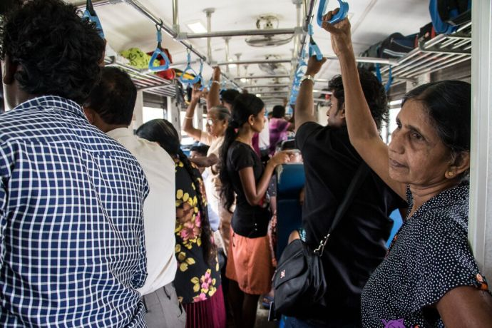 Sri Lanka: Colombo, Sri Lanka :: A train ride. More Info