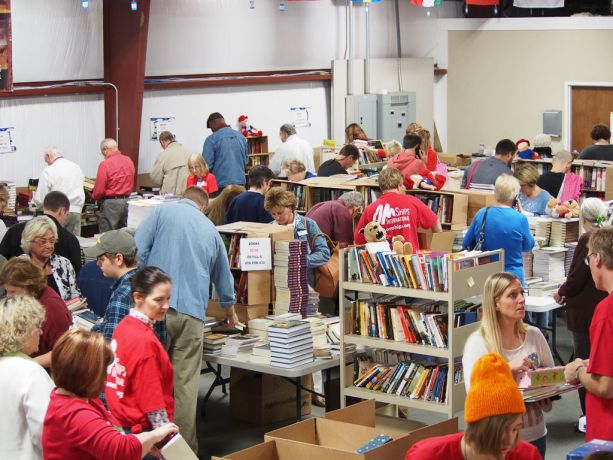United States: Florence, South Carolina, USA: The large turnout at the annual blowout sale at the OM Ships facility in Florence, South Carolina testifies to literature ministry's ongoing impact. More Info
