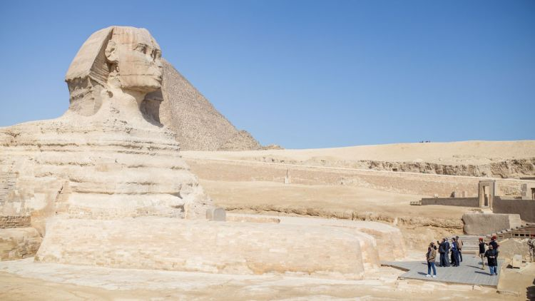 Egypt: Historic sites bring visitors to Egypt.   Photo by Justin Lovett More Info