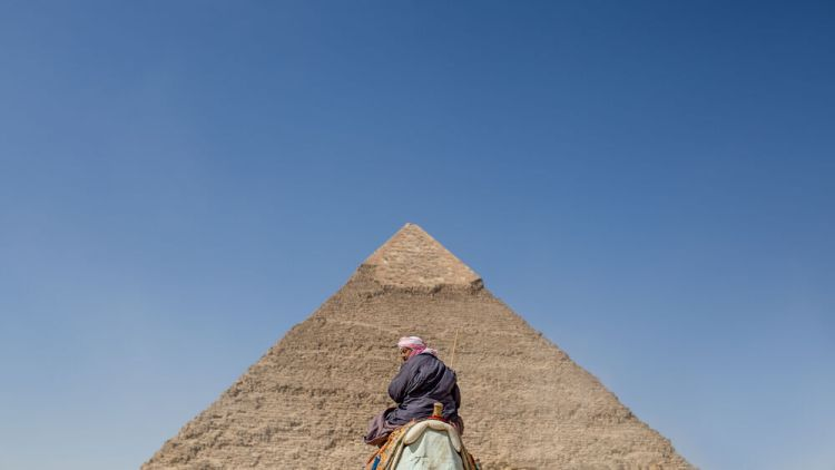 Egypt: Historic sites bring visitors to Egypt.  