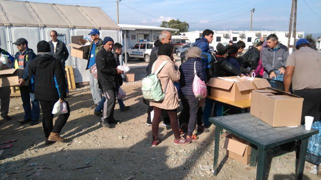 North Macedonia: Gevgeljia refugee camp, december 2015 More Info