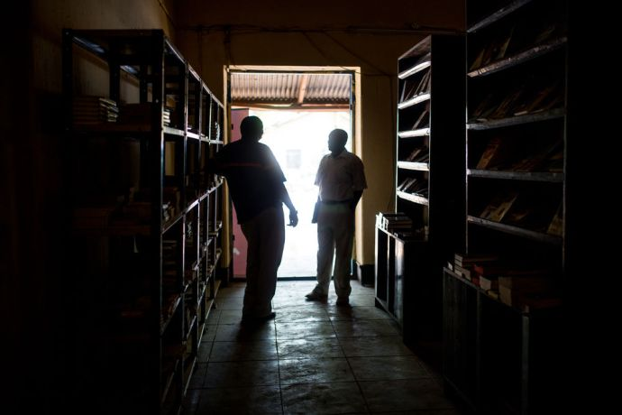 South Sudan: OM's team in South Sudan is ministering through the Christian bookshop.  