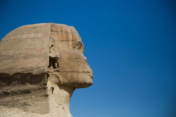 Egypt: Iconic scenes from Egypt greet visitors.   Photo by Josiah Potter More Info