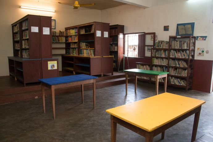 Madagascar: Toamasina, Madagascar :: The city library is renovated by Logos Hope. More Info
