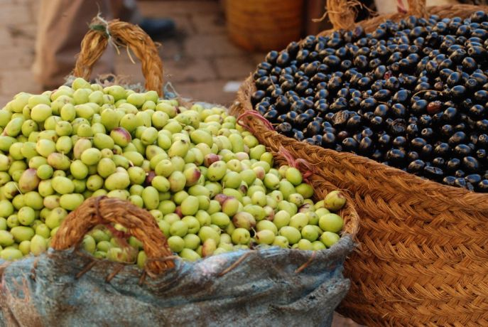 Morocco: Olives are a core ingredient in North African and Middle Eastern meals.  