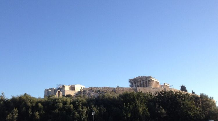 Greece: Acropolis, on the hill of Areopagus, above Athens. More Info