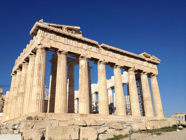 Greece: Acropolis, among the very famous ruins of Athens that are mentioned in the Bible. More Info