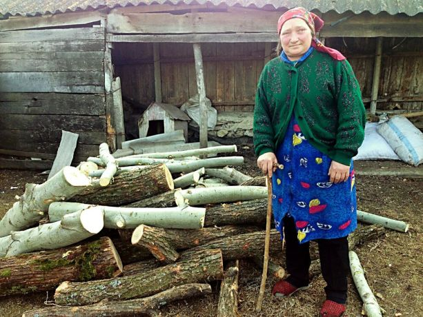 Moldova: Maria received firewood through OM Moldova's winter projects at the beginning of 2016, enabling her to heat her house properly again. She had run out of wood and for a period of time had been collecting some walnut shells which she used to make a small fire. More Info