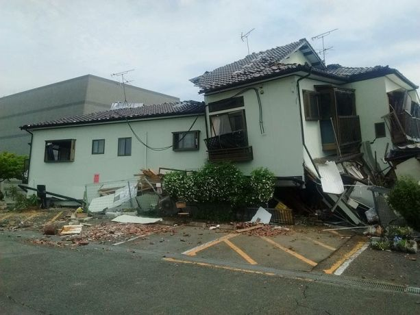 Japan: East Kumamoto Bible Christ Church collapsed during a strong Earthquake on April 16 More Info