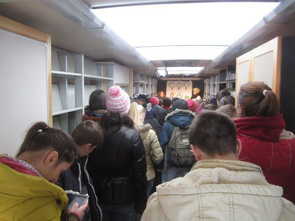 Moldova: Visiting seven villages in Moldova, the Bus4Life was often full of visitors. More Info