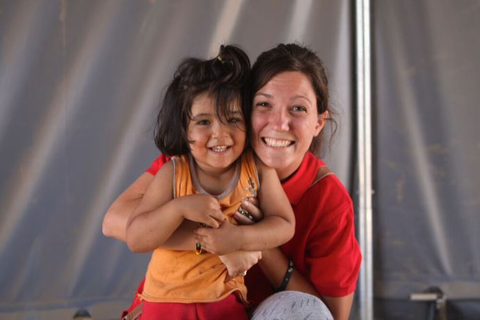 Macedonia: A Transform volunteer makes a young Syrian friend More Info