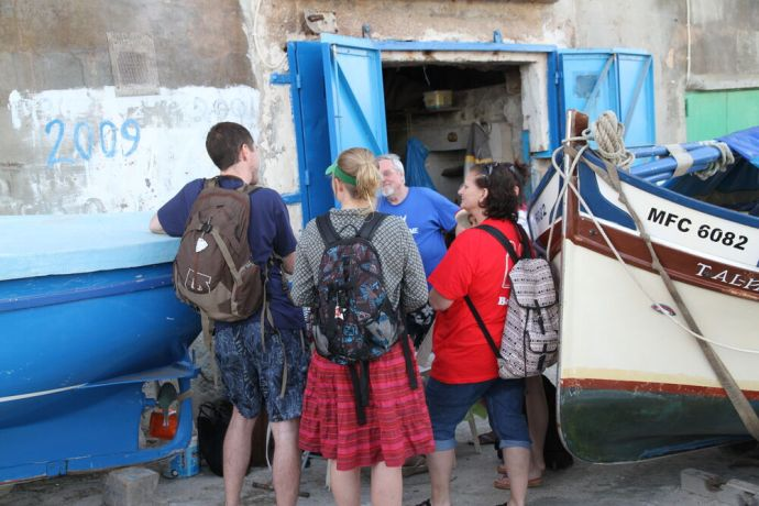 Malta: The Transform team in Malta sharing the gospel, having learned the importance of lifestyle evangelism. More Info