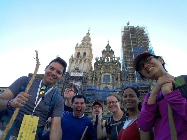 Andorra: Finally there! The Transform Spain El Camino team walking the pilgrim route arriving at Santiago de Compostela, having shared the Gospel with many other pilgrims on their way. More Info