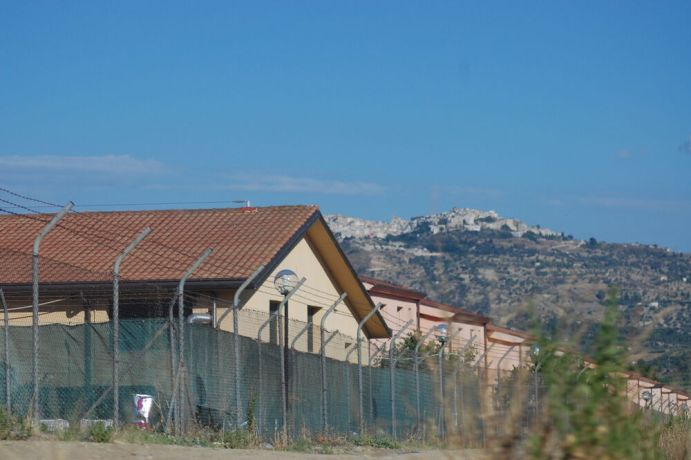 Italy: Refugee camp in Sicily, Italy. More Info