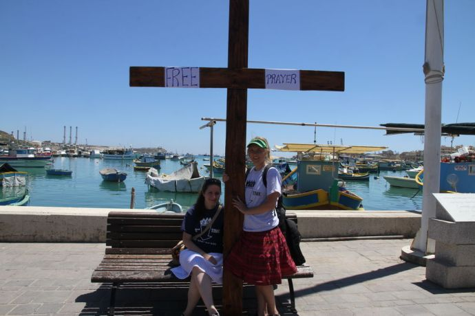 Malta: The Transform team members were able to pray for people in Malta. More Info