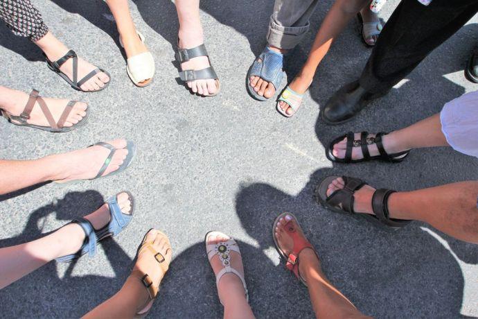 Malta: The feet that bring good news, Transform Malta. More Info