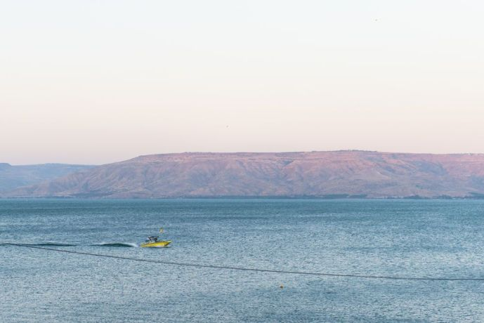 Israel: The Sea of Galilee: Please pray for OM workers and outreach teams ministering to people in Israel.  Photo by Jenny Oetzell More Info
