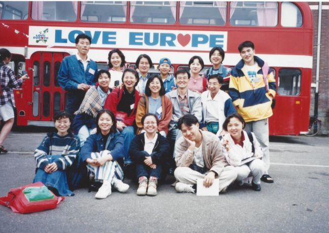 South Korea: Koreans serving at Love Europe in 1997. More Info