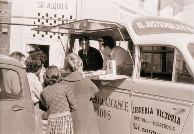Germany: The book van was a creative way of distributing Christian literature in Spain in the early sixties. More Info
