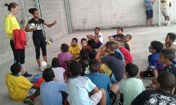 Brazil: OM Brazil doing ministry during the 2016 Olympics in Rio de Janeiro. More Info