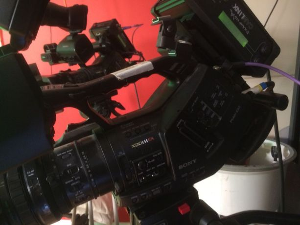 United Kingdom: Setting up the cameras to broadcast Urdu heart-language programmes. More Info