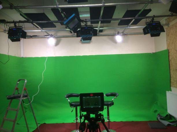 United Kingdom: Setting up to broadcast includes a green room More Info