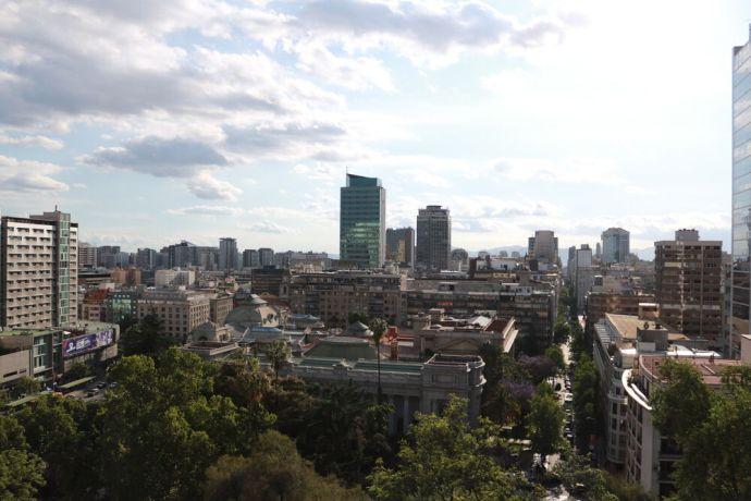 Chile: The city of Santiago, Chile. More Info