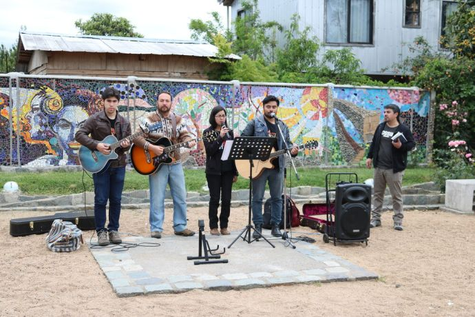 Chile: OM Chile travels to the south for the 2016 Adventure Team to help equip the local churches to do ministry in their communities and outside. Music in the street is a great way to attract attention! More Info
