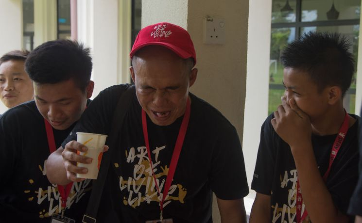 Malaysia: Teens and coaches learned about the horrible water pollution problems in Bangladesh by tasting horrible but harmless drink concoctions with things like chili, lime, coffee grounds, and other nasty items in them. More Info